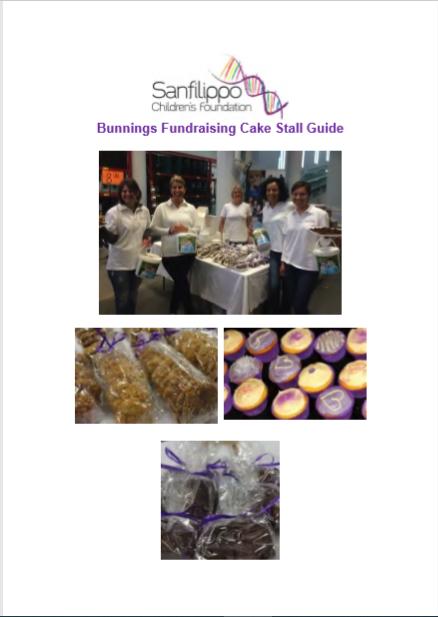 Bunnings Cake stall guide